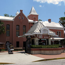 photo of old jail in st augustine