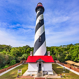 photo of st Augustine light house